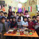 برنامه هفتگی تغذیه پیش دبستانی نوید صدرا اصفهان