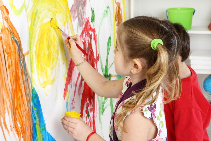 روانشناسی رنگ در کودکان