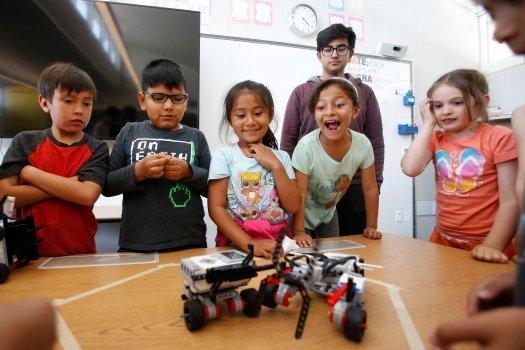تاثیر کلاس رباتیک در کودکان