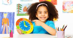 آموزش زمان به کودکان پیش دبستانی