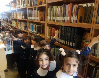 اردو و بازدید از کتابخانه